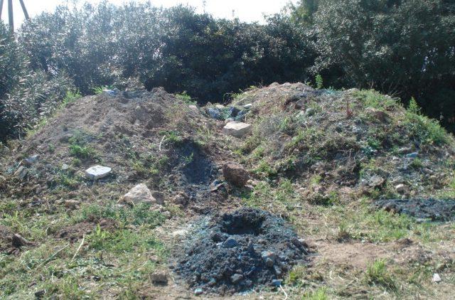 area contaminata da amianto